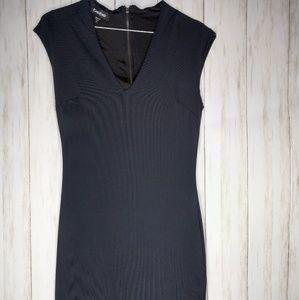Bebe xs navy dress